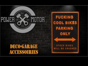 Déco Garage, accessoires
