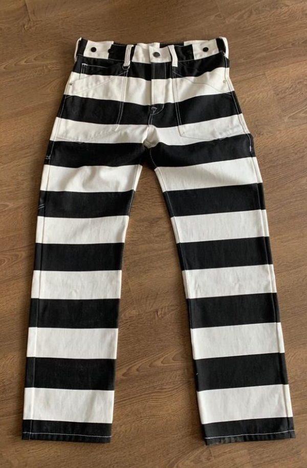 pantalon-rayé-japan-style