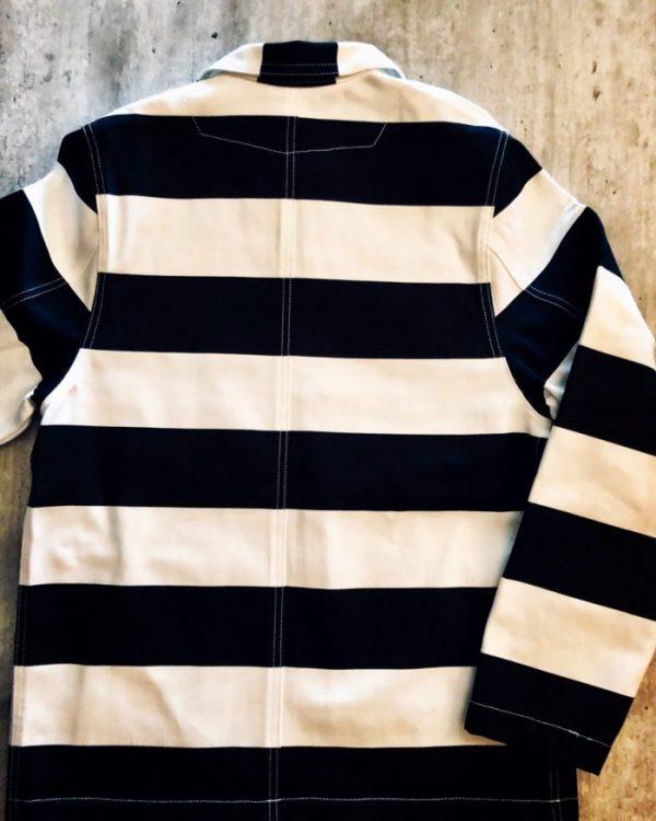 veste-prisonnier-denim-holdfast-rayée-noir-blanc-plat-dos