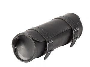 Sacoche-outils-motos-Ledrie-cuir-noir-boucles